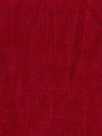 JEFFERSON LINEN 347 CERISE Linen Fabric