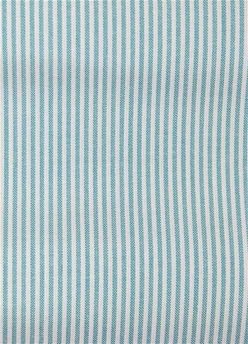 Laguna Aquamarine Ticking Fabric