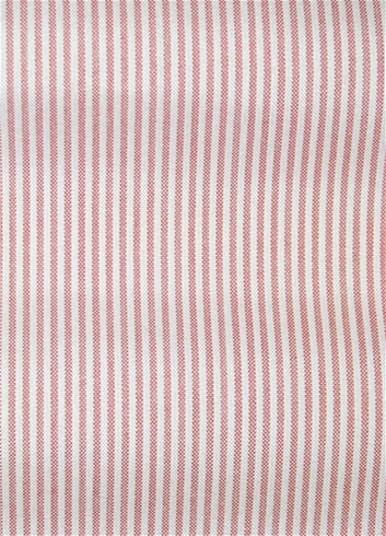 Laguna Coral Ticking Fabric