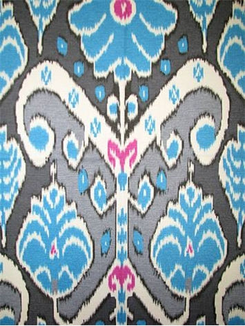 HGTV HOME FABRIC Market Marvel Peacock