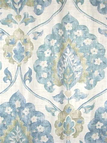 Marquette Spring Medallion Fabric