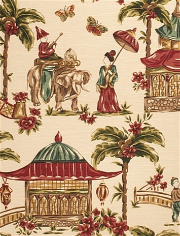 Mougin Henna Chinoiserie Charlotte Moss Decorator Fabric