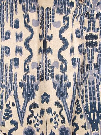 Mumbai Indian Blue Lacefield Designs
