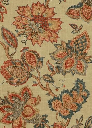 Noblesse 349 Vintage Red Covington Fabric