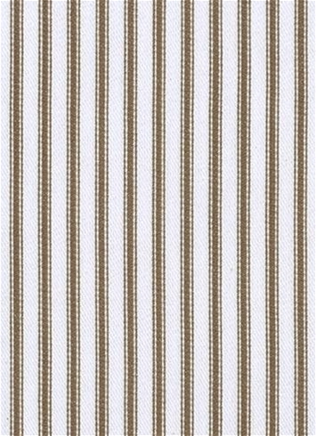 New Woven Ticking 619 Truffle
