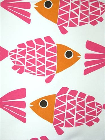 ODL Go Fish Melon Outdoor Fabric