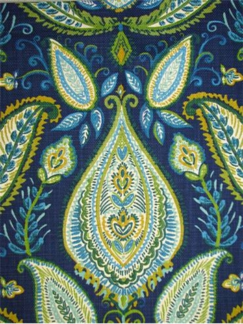 Ombre Paisley Ultramarine