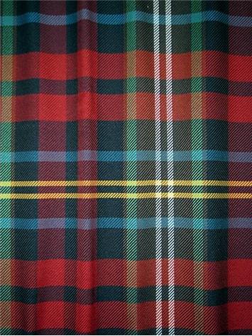 Mactavish Tartan Plaid Fabric Decorator Plaid Fabric