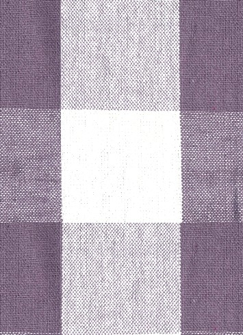 Reagan Plaid Fabric 450 Lilac