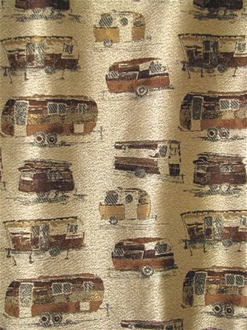Road Trip Earth Camper Fabric