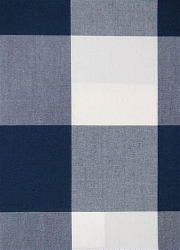 Seaside Navy Plaid Fabric