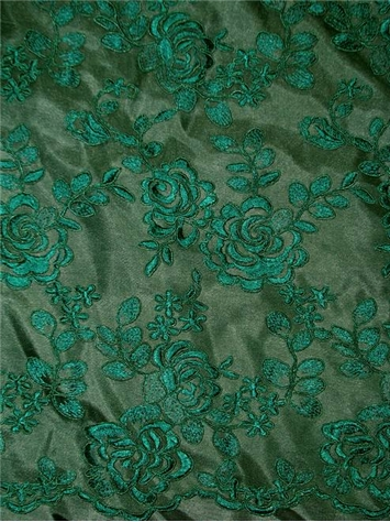 Milano Lace Bottle Green