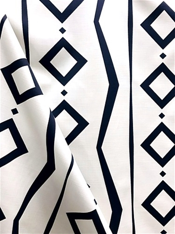 Tonga Ink Geometric Fabric