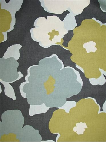 Top Floral Charcoal
