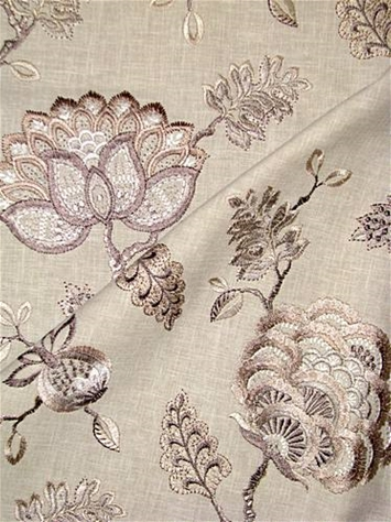 Wheaton 145 Travertine Jacobean Embroidery