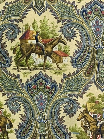 Woodgate Royal Equestrian Fabric