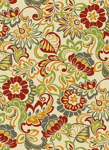 Zoe Citrus Outdoor Fabric