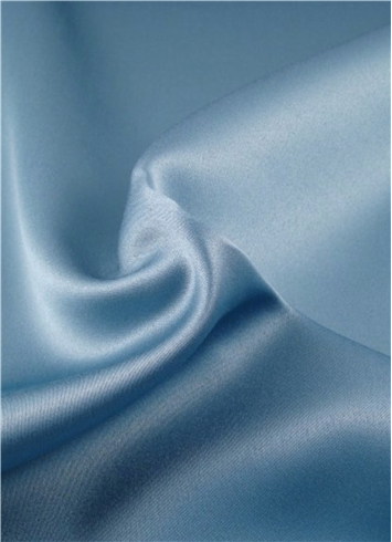 Blue Stone Duchess Satin Fabric