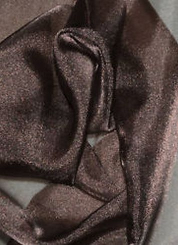 Brown Sparkle Organza Fabric