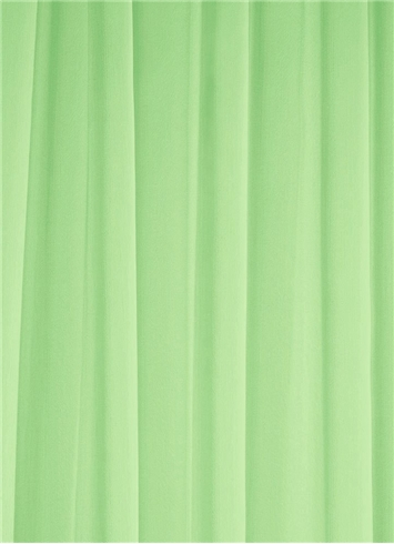 Apple Green Chiffon Fabric