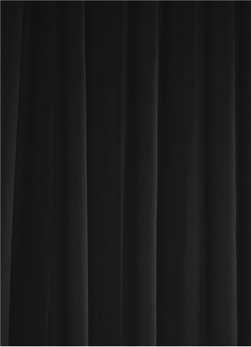 Black Chiffon Fabric