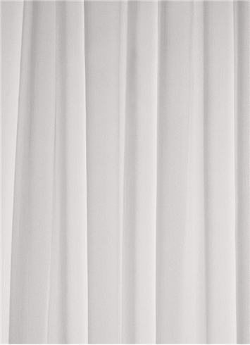 Diamond White Chiffon Fabric