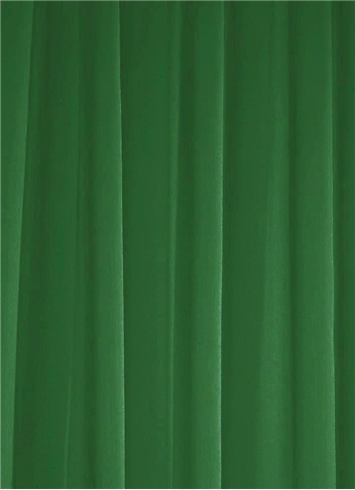 Forest Green Chiffon Fabric
