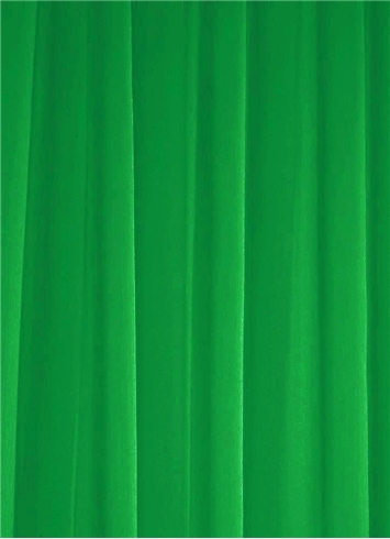 Kelly Green Chiffon Fabric