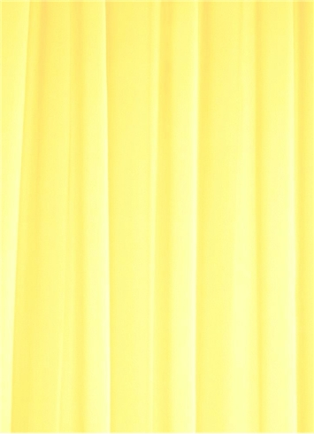 Lemon Chiffon Fabric