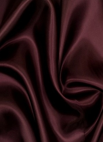 Burgundy China Silk Lining