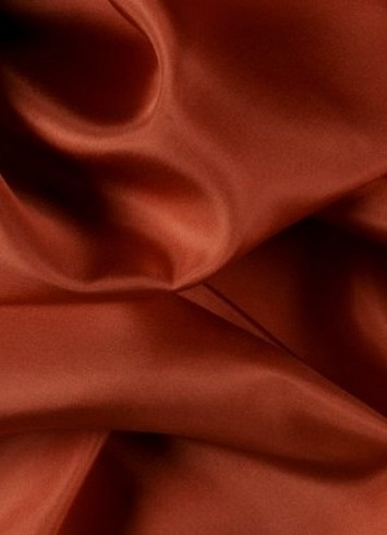 Burnt Orange China Silk Lining Fabric