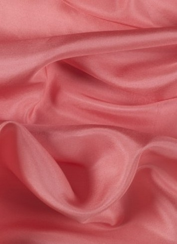 Coral China Silk Lining Fabric