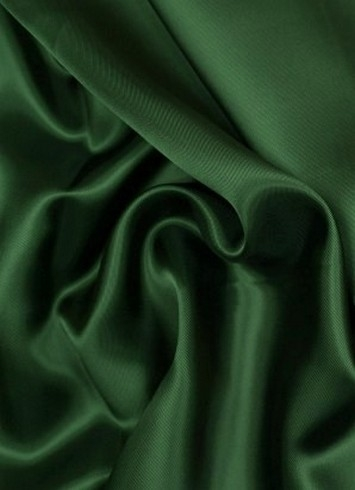 Forest Green China Silk Lining Fabric