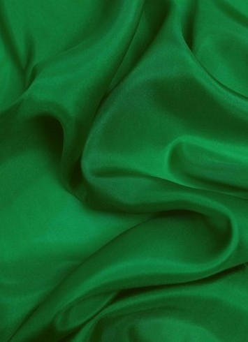 Kelly Green China Silk Lining Fabric