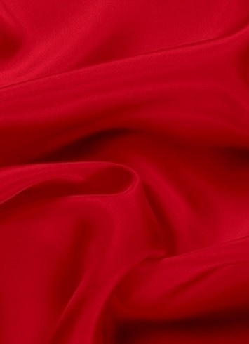 Red China Silk Lining Fabric