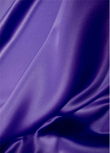 Crepe Purple Duchess Satin