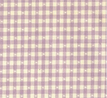 Linley Gingham 44 French Lavender