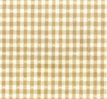 Linley Gingham 1 Honey Beige