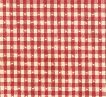 Linley Gingham 31 Red