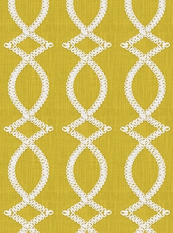 Maxis Maxime Chartreuse - Kate Spade Fabric