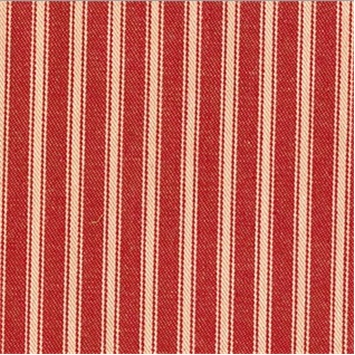 New Woven Ticking 347 Cerise
