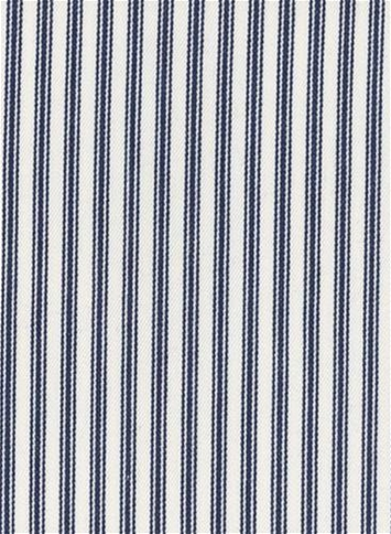 New Woven Ticking 55 Navy