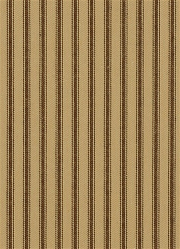 New Woven Ticking 613 Walnut