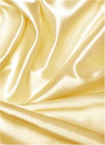 Ultra Banana Duchess Satin Fabric