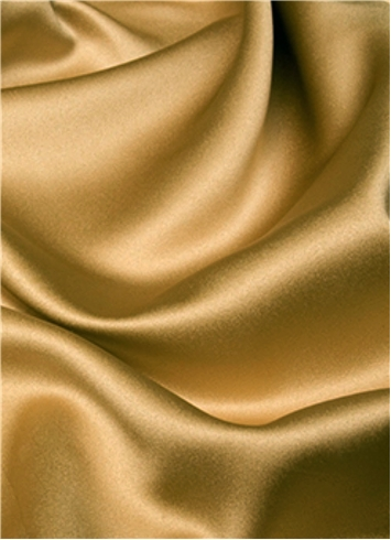 Victorian Gold Duchess Satin Fabric