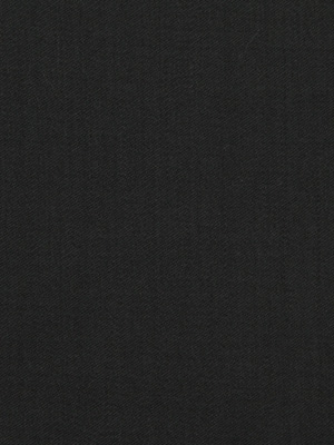 WOOL SATEEN BLACK