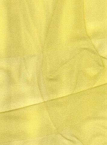 Lemon Sparkle Organza Fabric