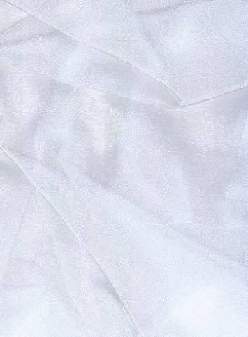 Grey Sparkle Organza Fabric