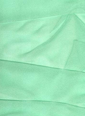 Mint Sparkle Organza Fabric