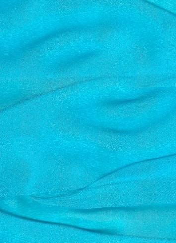 Turquoise Sparkle Organza Fabric